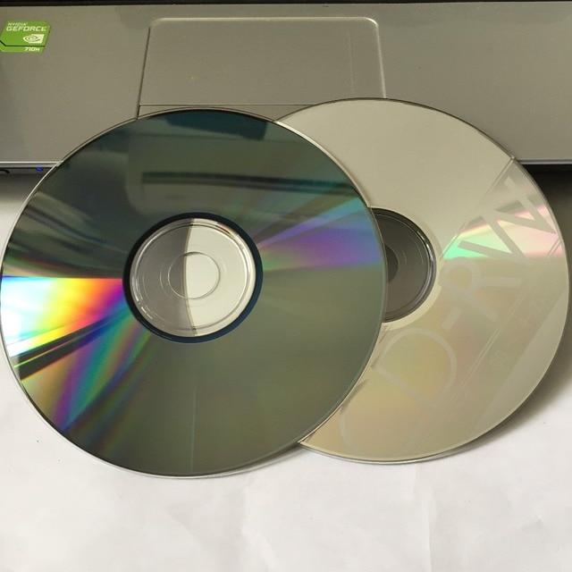 50 Discs bán buôn Gốc PhiBrand Trống In 700 MB 12X CD-RW Đĩa