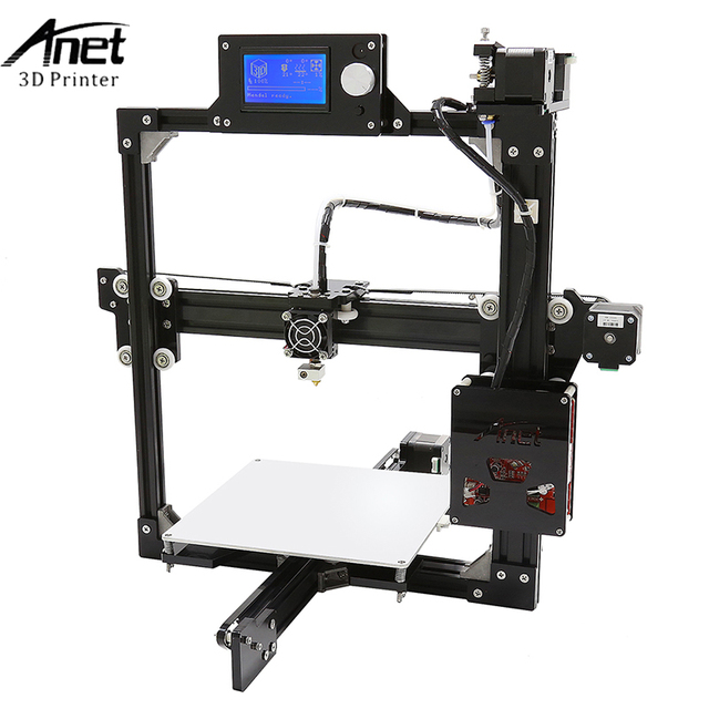 Anet A2 3d Printer Large Printing Size 220*270*220mm Full Metal Frame 3D Printer Kit DIY Easy Assemble With Free 10m Filaments 1