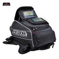 Menat Magnet Motorcycle Fuel Tank Bags Waterproof Helmet Bag Borsa Serbatoio Moto Motocross Travel Luggage with Phone GPS Bag