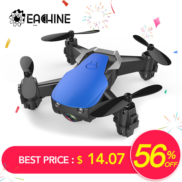 Eachine E61/E61hw Mini Drone With/Without HD Camera Hight Hold Mode RC Quadcopter RTF WiFi FPV Foldable RC Drone