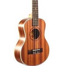 23″ Ukulele Mini Hawaiian Guitar Rosewood Fretboard 4 strings Mahogany Electric Ukulele with Pickup EQ Uke