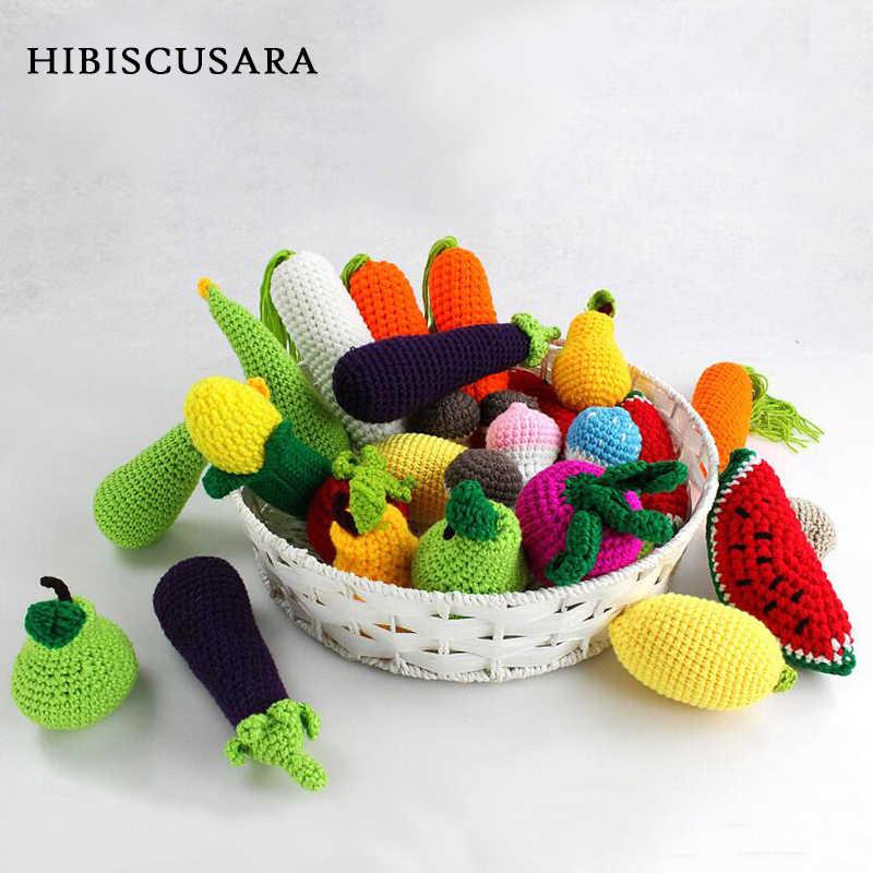 יילוד צילום Props קישוטי אביזרים סרוגים סרוגים גזר ירקות פירות לימון צעצועי אבזרי תמונה תינוק פטריות