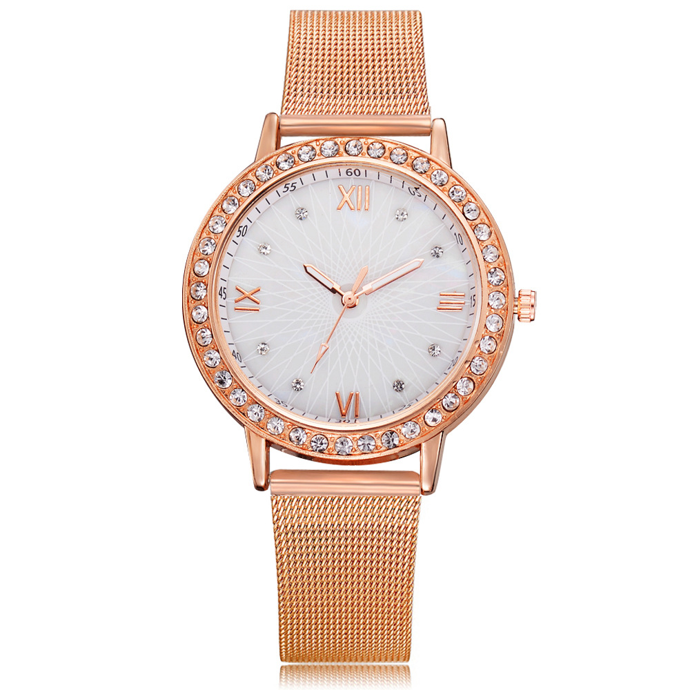 2018 Nuevas mujeres Rhinestone Relojes Vestido de dama Reloj de mujer - Relojes para mujeres