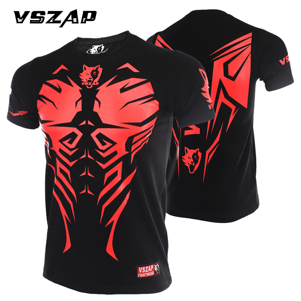 VSZAP Boxing Jerseys GIANT Classic MMA Fighting Giant T-shirt Fighting Martial Arts Fitness Training Muay Thai