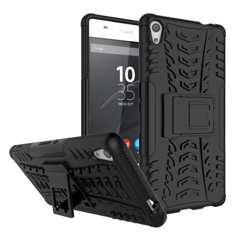 Tough Rugged Dual Layer Heavy Duty Armor Case for Sony Xperia X XZ XA X Compact X Performance C5 Ultra E5 C6 XA Ultra Duty Armor