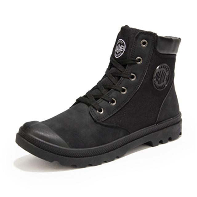 2017 Inverno Botas Dos Homens Do Exército Militar Bota Deserto Sapatos de alta qualidade Homens Outono Ankle Boots Botas de Neve Respirável zapatos