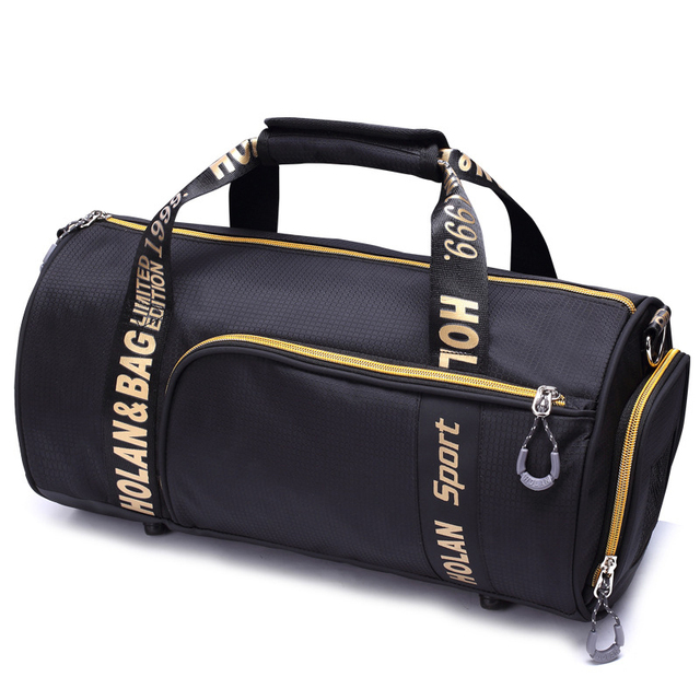 2017 Mini women Sport Bag Waterproof Nylon Large Gym Bag Letter Outdoor Fitness Bag Women Basketball Soccer Multifunctional Bag