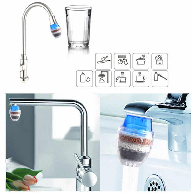 1 قطعة جوز الهند الكربون منقي مياه منظف المرشّح خرطوشة المنزل المطبخ صنبور الحنفية للمطبخ الحمام عدة عشوائي اللون P15