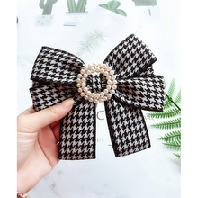 Fashion women bow tie Swallow Gird Butterfly Bow Ties Girl Student Hotel Clerk Waitress Neck Shirt Apparel Accessories