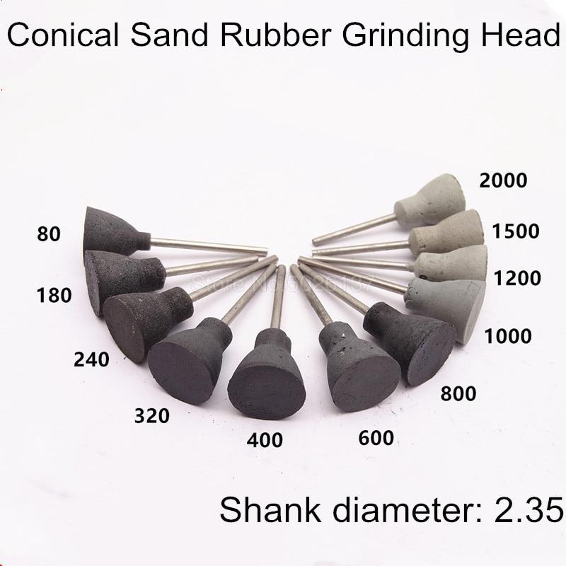 Nylon Fiber Grinding Head Polishing Wheel Mount Bit 3mm Shank 240~1500 Grit 1pcs