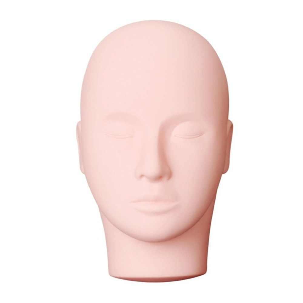 Uroda makijaż rzęs praktyka manekina Pro masaż makijaż szkolenia kosmetologia manekin lalka twarz głowa model