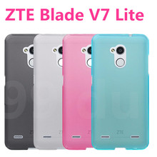 Transparent clear case for ZTE Blade V7 Lite matte cover shell phone house fundas for ZTE v7 lite v7lite tpu phone coque !%