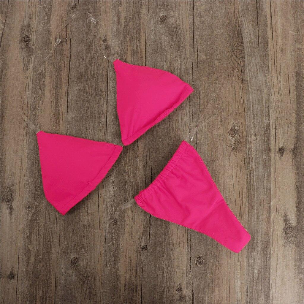 HTB1wBGDTrvpK1RjSZPiq6zmwXXaO Transparent micro bikini 2019 Sexy thong swimsuit separate Bandeau Bikini Set Push-Up Clear Strap Brazilian Swimwear Biquini #H