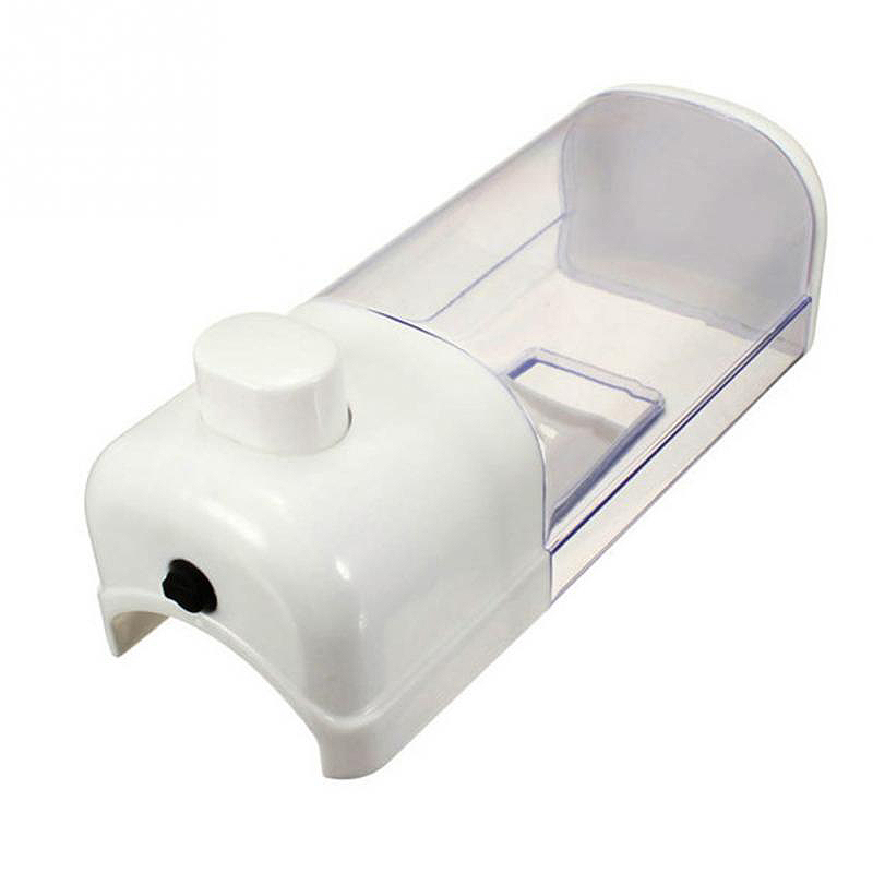 500ml Bathroom Wall Mounted Soap Dispenser Transparent Shower Shampoo Liquid Lotion Supplies #