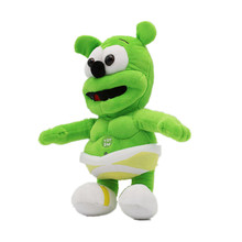 Kids Toys 2018 New Sale 30cm Gummy Bear Voice Pet Funny Lovely Sounding Plush Toy Best Gift For XD243