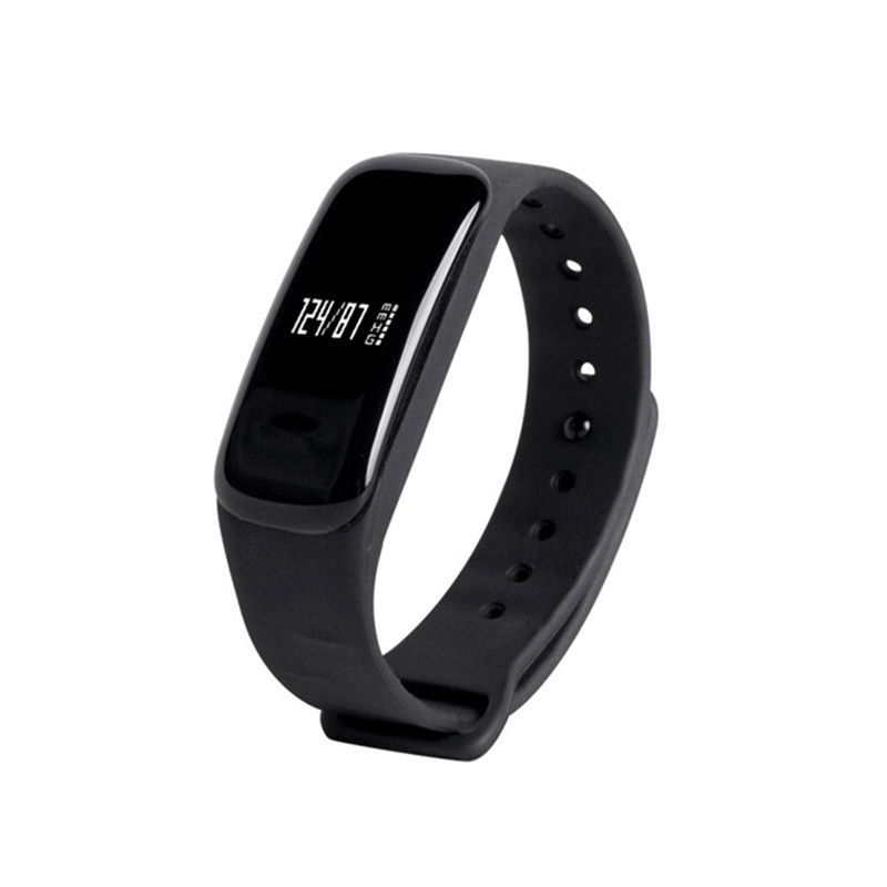 C1 Bluetooth Smart Wristband Bracelet Smartband Heart Rate Monitor Pulse Blood Pressure Smart bracelet for Apple Android Phone id111 bluetooth 4 0 heart rate monitor smartband green
