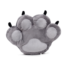 Free shipping creative cat claws hold pillow plush animal font b doll b font glove shape