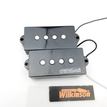 купить Wilkinson 4 Strings PB electric bass Guitar Pickup four strings P bass Humbucker pickups MWPB дешево