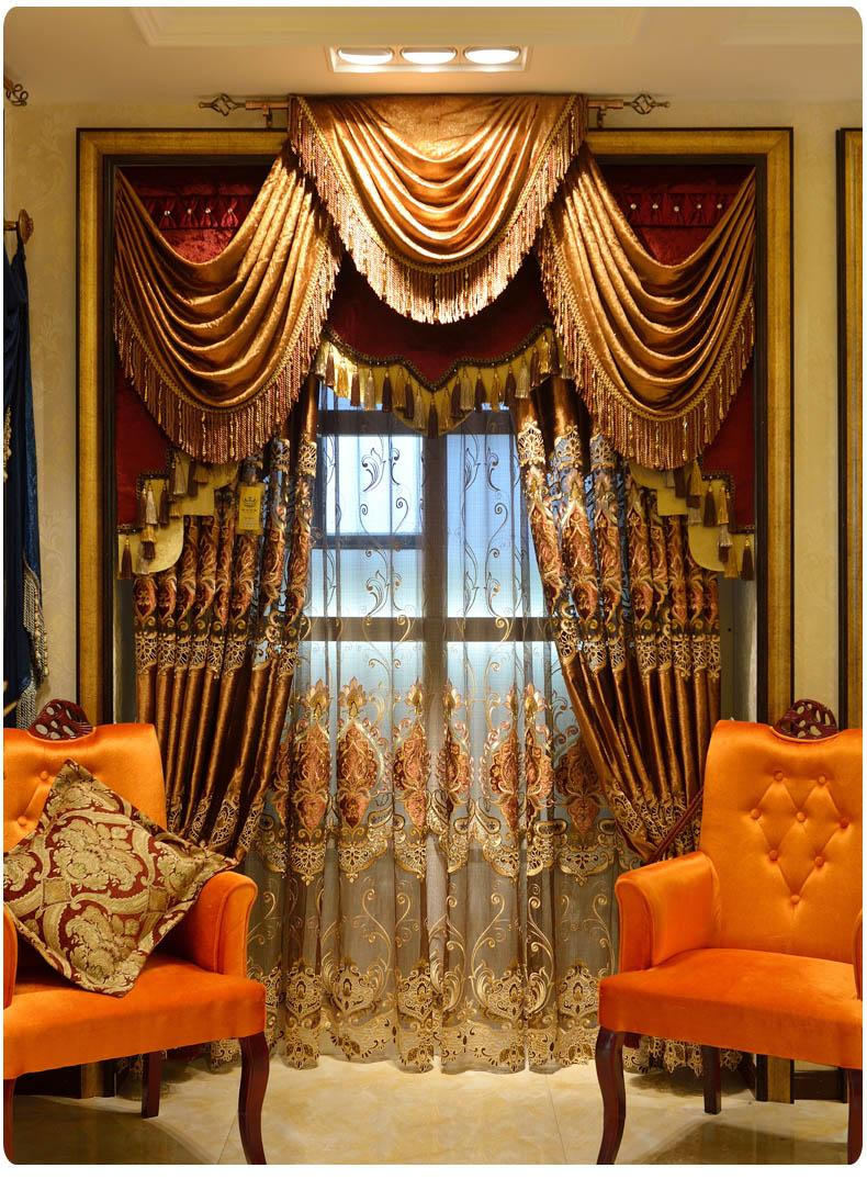 Us 154 66 11 Off Most Luxury Coffee Royal Velvet Curtain Brown Curtains For Living Room Drapes Door Curtains Dubai Drapery Valance Tulle Curtains In