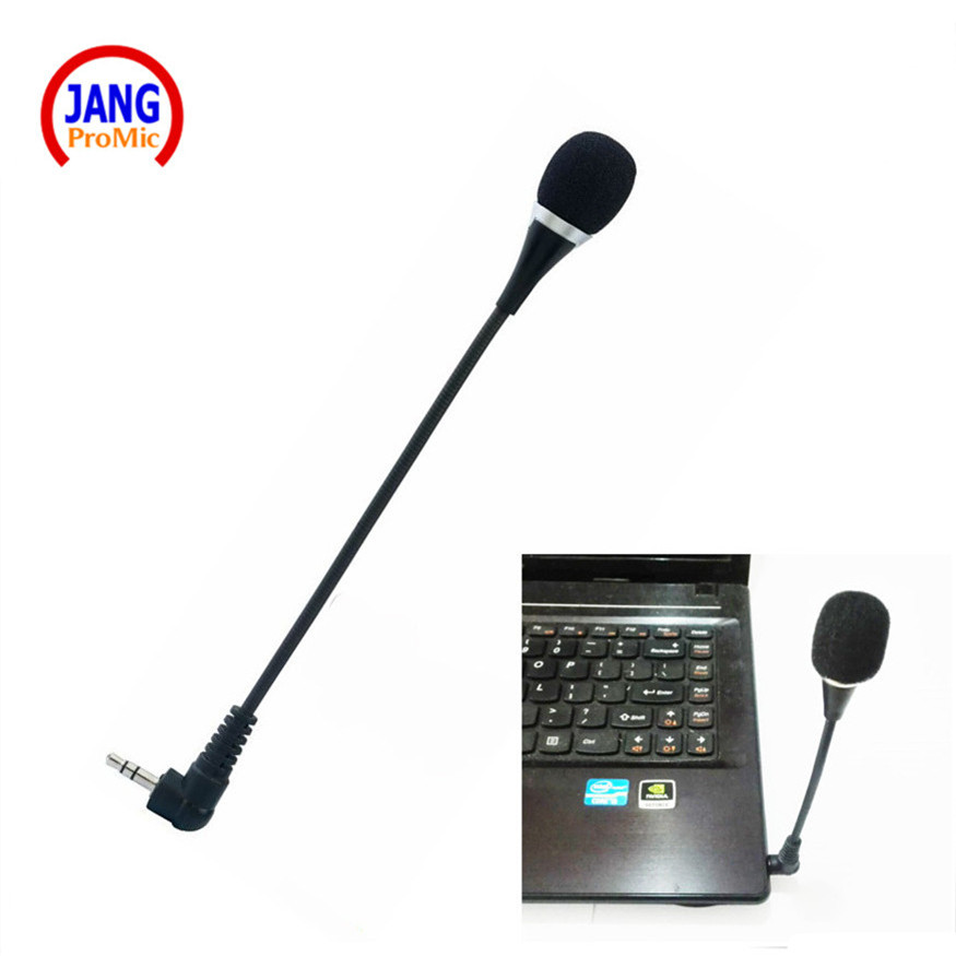 Microfone stéréo 3.5mm Microfone de téléphone portable de Micrfone de téléphone professionnel d'ordinateur pour l'enregistrement vidéo d'amplificateur-spectacle