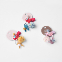 3PCS/Set Cute Little Rabbit Ball Girls Hair Bands Elastic Rope Cherry Clip Hairpins Accessories Set Best Gifts