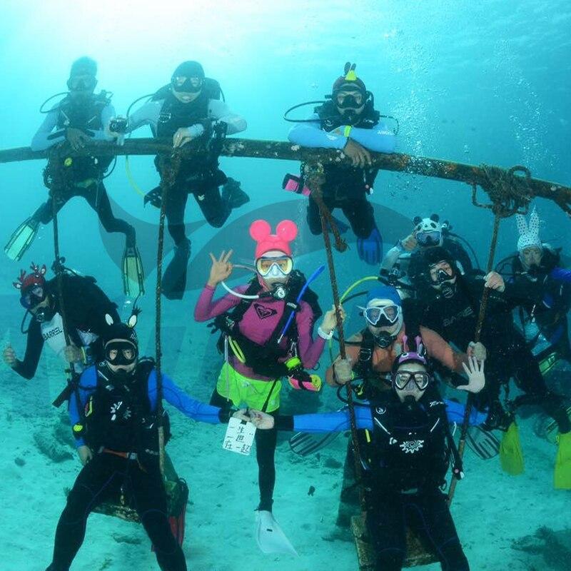 Protetor solar anti-uv 4mm cap submersível mergulho submersível perucas dos desenhos animados personalidade Dos Desenhos Animados boné chapéu de mergulho mergulho terno de mergulho