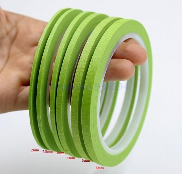 Fine Line Cinta Adhesiva De Papel Crepé verde Bueno Para Dedo ...