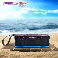 Portable Waterproof Bluetooth 3 0 Speaker Rugged Wireless For Outdoor Shower With Built In Microphone Suction