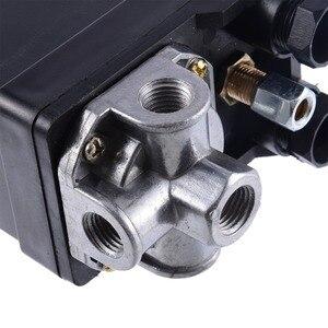 Image 5 - 1 Pcs 3 phase 380/400 V Compressor Pressure Switch Heavy Duty Air Compressor Pressure Switch Control Valve Mayitr