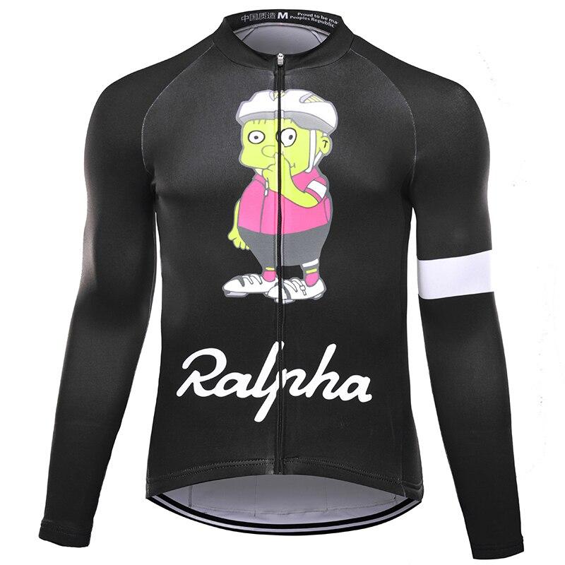 Simpson Thermal Fleece Bicycle Jersey Winter Bike Jerseys Road MTB Race Cut Aero Cycling Jersey Men Italian Clothing Long Sleeve