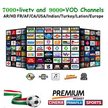 7000 Channels World Global IPTV Europe USA UK Germany Italy Nordic Latin 3/6/12 Month subscription For M3U Mag Android Smart TV