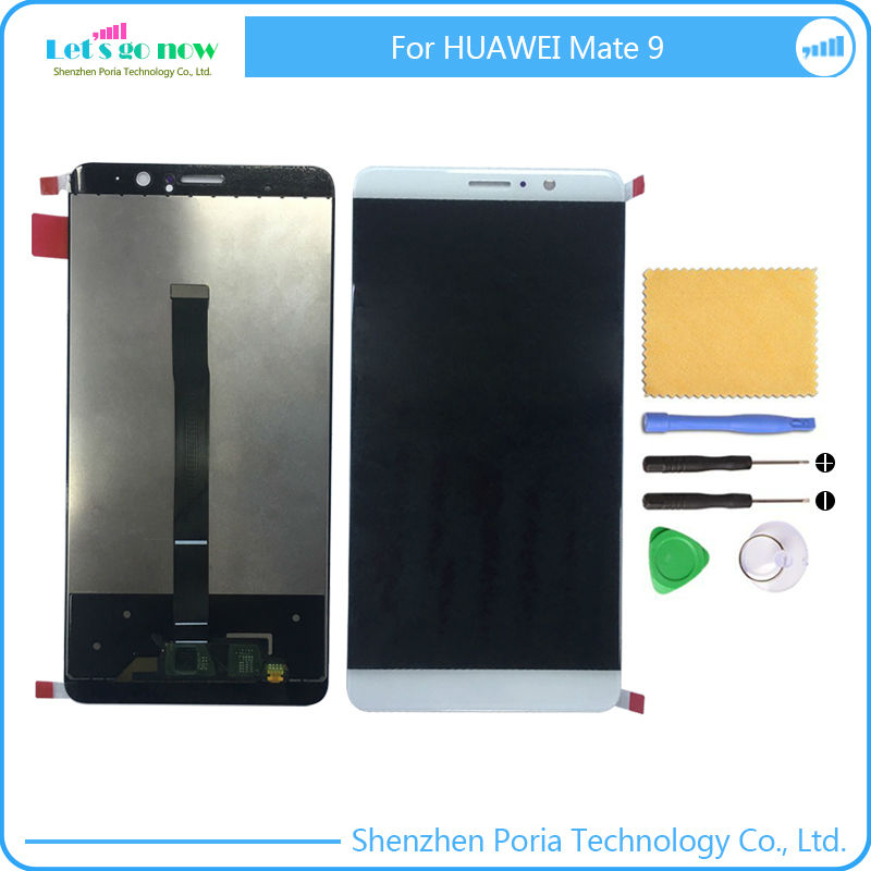 ФОТО New LCD Display Touch Screen Digitizer Panel Assembly Original Replacement Parts For Huawei Mate 9 With Tools