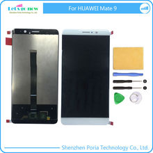 New LCD Display TouchScreen Digitizer Panel Assembly Replacement Parts For Huawei Mate 9 With Tools