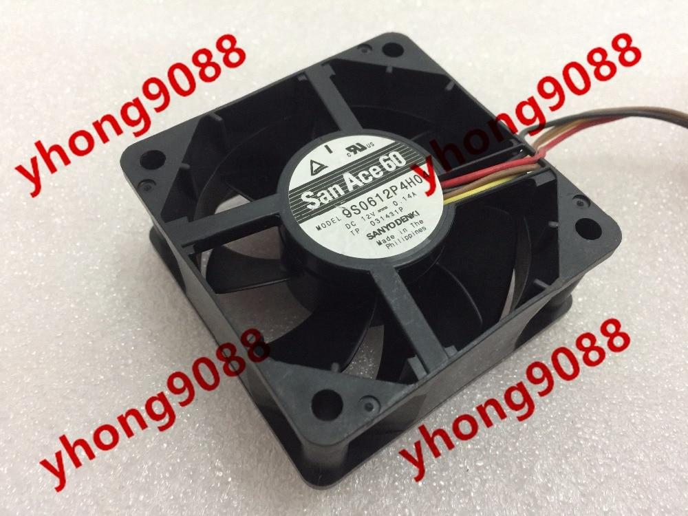 SANYO 9S0612P4H04 DC 12V 0.14A 60x60x25mm сервера Square Fan