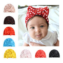 Autumn Winter Baby Hat Girl Boy Cap Children Hats Toddler Kids Hat for 3M~6 Years old good gift for kids New Born Baby(China)