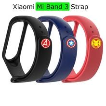 Mi Band 3 Strap Bracelet For Xiaomi Miband 3 Pulsera Silicone Correa For Xiaomi NFC Mi Band 3 Smart Wristband Wrist Belt Straps недорого