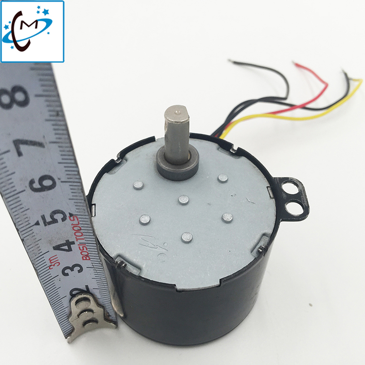 Free shipping  !!! take up motor rewinder motor  for Roland SP VP XC RS SJ 540 300 640 solvent plotter take up unit motor oem roland rs 640 vp 540 belt pulley gear