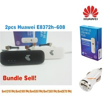 Unlocked Huawei E8372h-608 3G 4G LT Plus Antenna and Free gift  WIFI Router Car Wireless usb dongle modem