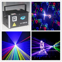 Moving Head Lights full color Swing Laser Arrow Stage DMX512 Disco DJ Christmas Effect