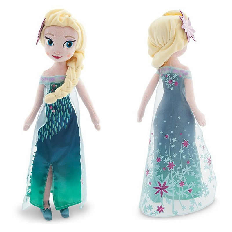 40 см 2 шт/партия плюшевые игрушки куклы уникальные подарки милые игрушки для девочек принцесса Анна и Кукла Эльза подарки на день рождения для девочек Pelucia Boneca Juguetes