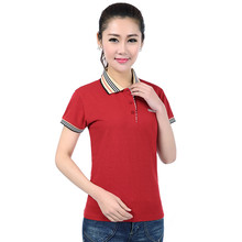 Brand Casual Style Female Short Sleeve Solid Pure Cotton Polo Shirts Spring Summer Women Polo Shirt Woman Plus Size 3XL YY627