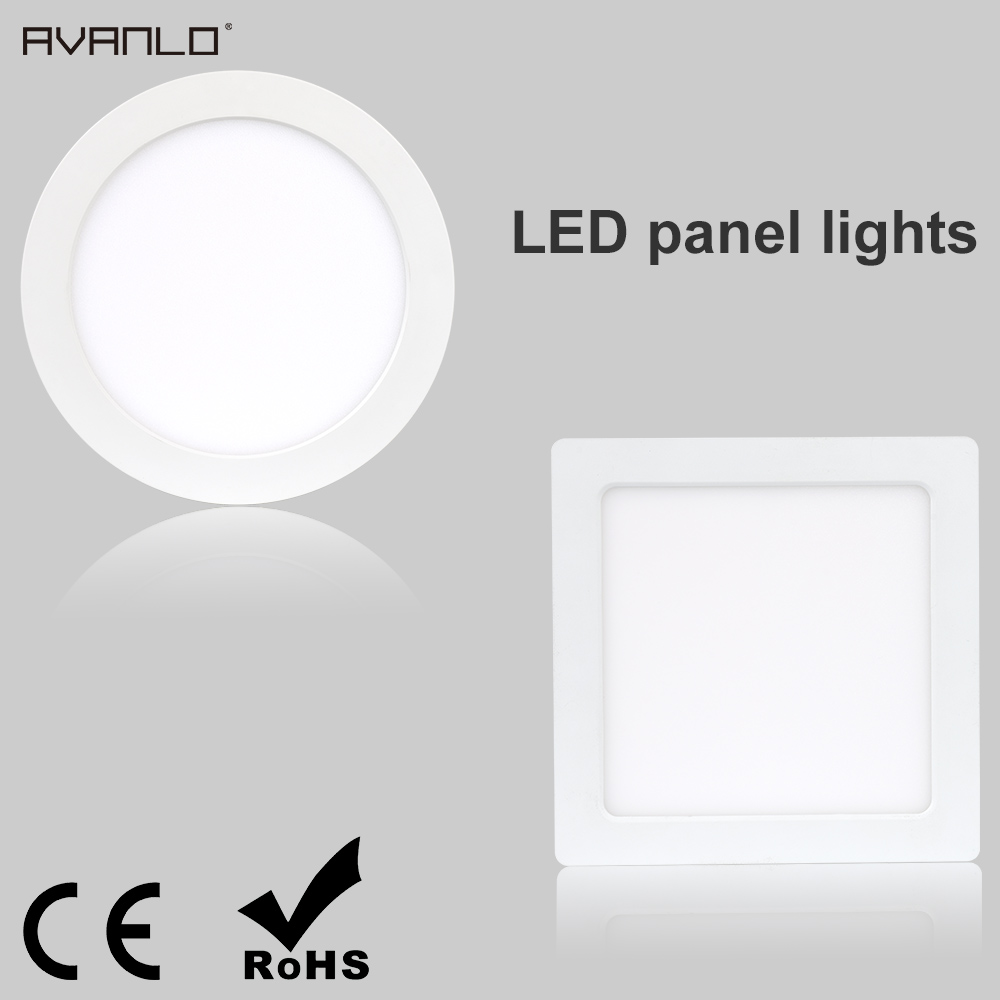 Modern 24w 30cmx30cm Square Led Ceiling Light Led Ceiling: Benryhome.com : Modern LED Panel Lights Ceiling Round