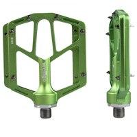 산악 자전거 페달 페달 도로 자전거 알루미늄 합금 미끄럼 방지 페달 크롬 몰리브덴 스틸 축 wellgo b181
