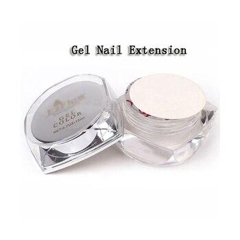 1 Uds Gel Uv extensión de uñas herramientas de arte de uñas claro profesional clavo constructor Gel punta para manicura decoración herramienta de pulido