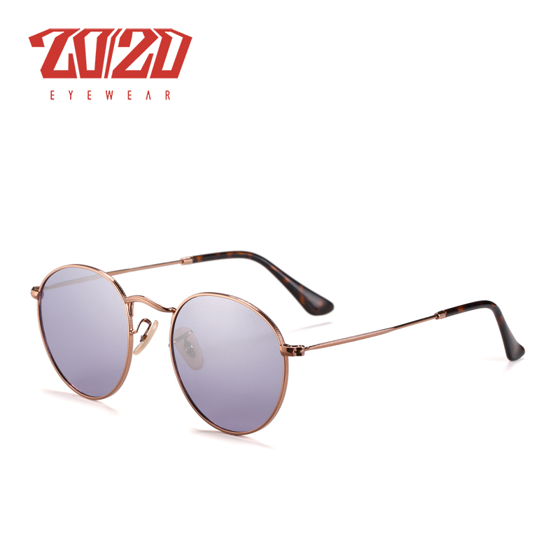 20/20 Brand New Unisex Sunglasses Men Polarized Lens Vintage Round Metal Eyewear Accessories Sun Glasses for Women 17018-1 16