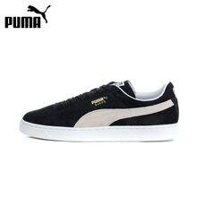 e5d7e6e03de Homens Sapatos de Skate PUMA Suede Clássico Hard-Wearing Confortáveis  Lace-up Lazer Anti