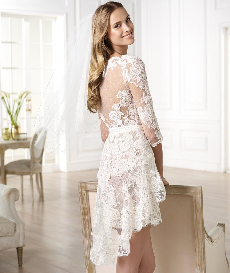 fddcbf2f532 Luxury V Neck Floor Length Much Beaded Back Simple White Wedding Dresses  2014 A Line Bridal Gown Vestidos De NoivaUS   189.99 piece. 2014 Berta Long  Sleeves ...