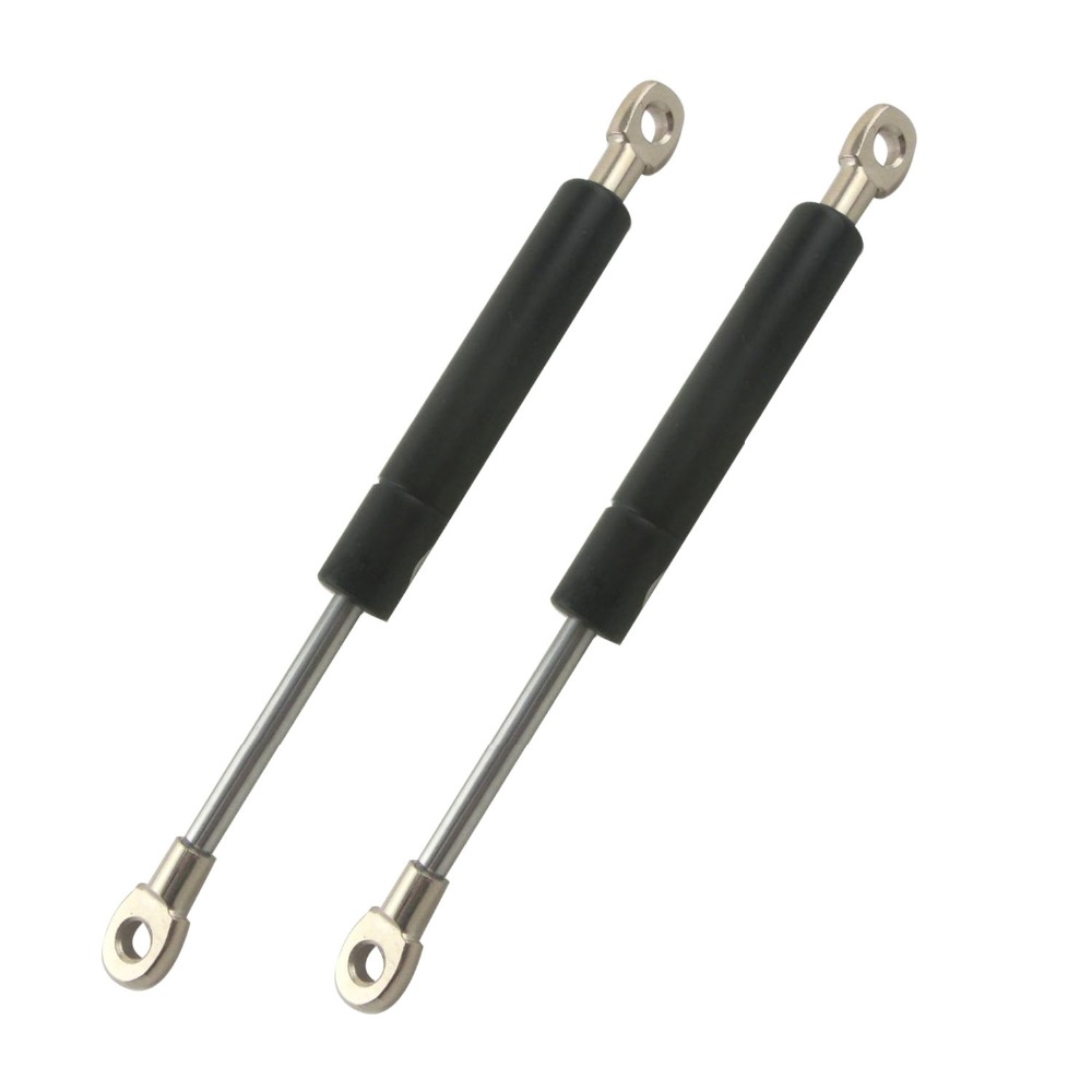 250mm Central Distance 80mm Stroke Auto Gas Spring 25KG/55lb Force Ball Joint Lift Strut Automotive Gas Spring M8