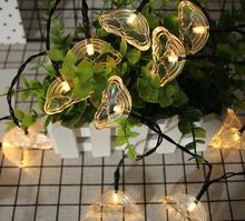 1,2 м 10led светодиодная гирлянда свет новый свет лампы INS декоративный свет