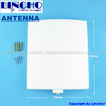 1.2ghz Directional Panel Antenna, High Gain 9dB wireless CCTV camera antenna, N Female Connector